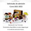 Solicitudes de admision 2021-2022 (Cartel)